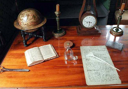 Writing Desks Of Famous Authors Home Library Design And Book
