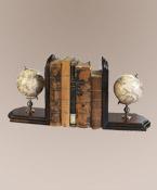 globebookends